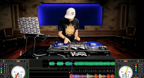 reigning world dmc dj champion dj vajra puts the new ran sixty-one mixer for serrate scratch live through its paces