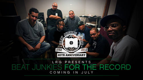 l r g presents beat junkies for the record coming in july, check out here the trailer on vimeo