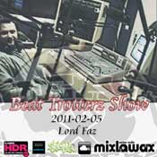 listen and download february 5th, 2011 beat trotterz show lord faz in the mixx on mixlawax hip hop radio